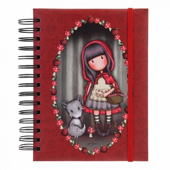 Купить Блокнот-органайзер - Little Red Riding Hood, Santoro London