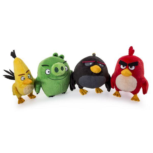 Игрушка из серии «Angry Birds» - плюшевая птичка, 20 см. от Toyway