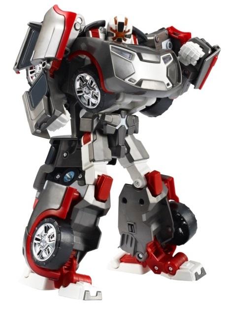 Трансформер Tobot Evolution X Shield-On, со световыми и звуковыми эффектами, наклейками и ключом-токеном от Toyway
