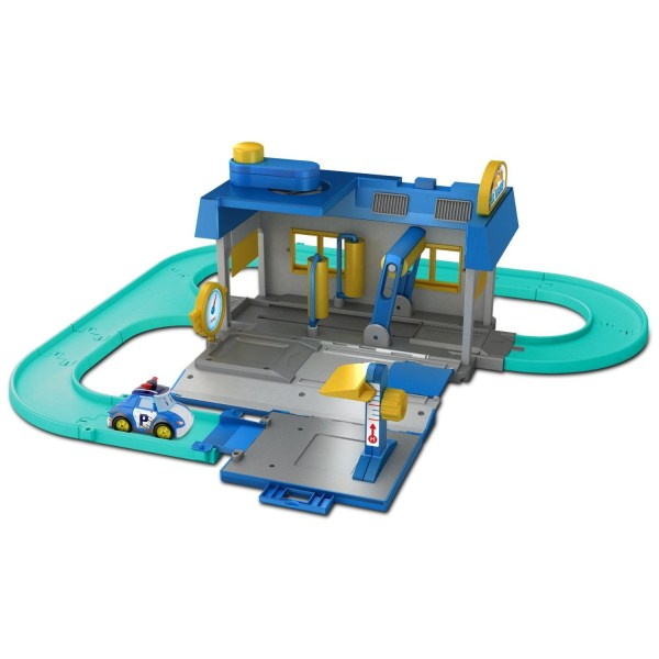 Игровой набор Мойка машинRobocar Poli. Робокар Поли и его друзья<br>Игровой набор Мойка машин<br>