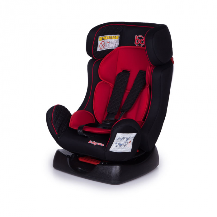 Детское автомобильное кресло Nika группа 0+/I/II, 0-25 к.г, 0-7 лет, цвет – черно-красныйАвтокресла (0-25кг)<br>Детское автомобильное кресло Nika группа 0+/I/II, 0-25 к.г, 0-7 лет, цвет – черно-красный<br>