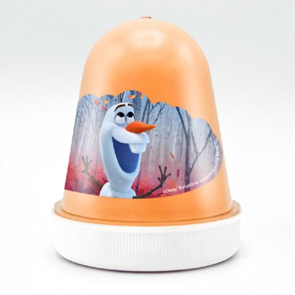 Слайм Disney kiki fluffy - Морковный фреш, оранжевый фото