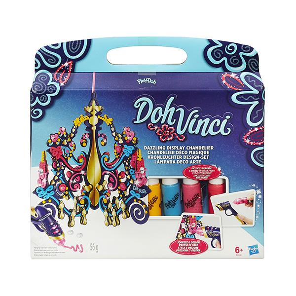 Набор для творчества из серии Doh Vinchi - Люстра ДаВинчиПластилин Doh-Vinci от Play-Doh<br>Набор для творчества из серии Doh Vinchi - Люстра ДаВинчи<br>