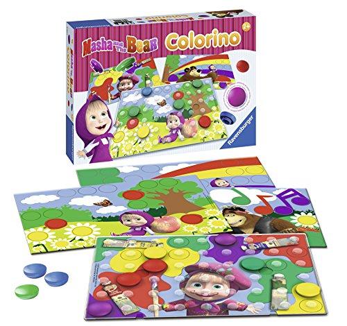 Настольна игра - Маша и Медведь КолориноДл самых маленьких<br>Настольна игра - Маша и Медведь Колорино<br>