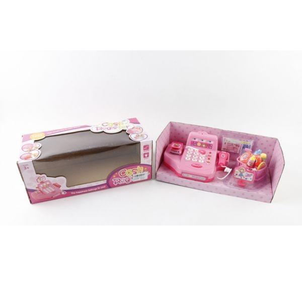 Кассовый аппарат, со светом и звуком - Детская игрушка Касса. Магазин. Супермаркет, артикул: 159567