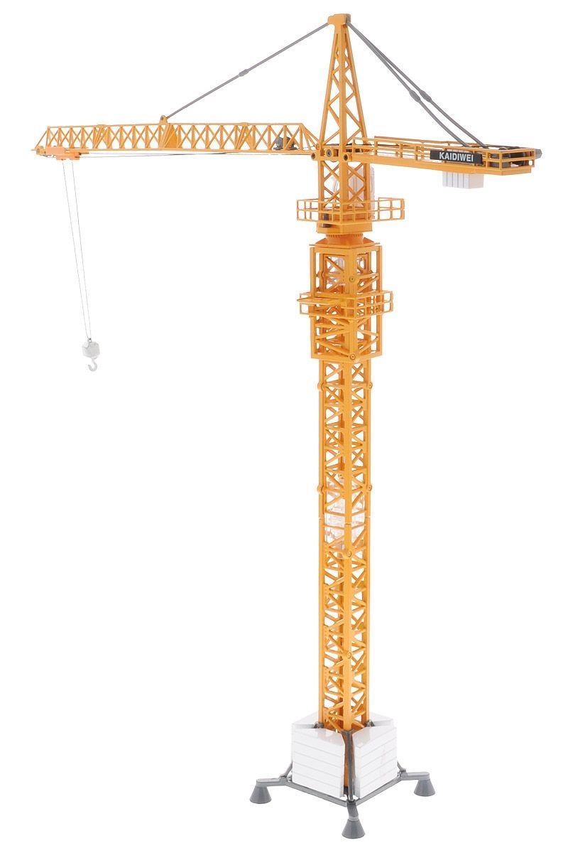 Башенный кран металлический, масштаб 1:50 от Toyway
