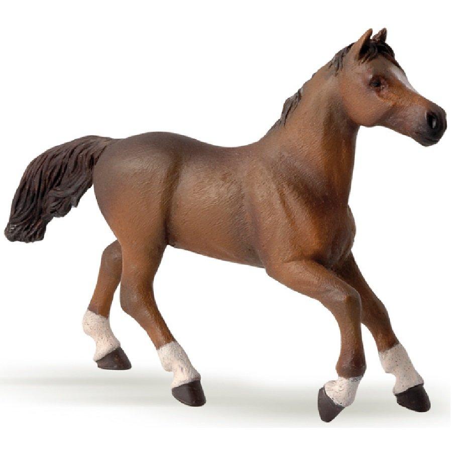 Купить Фигурка - Англо-Арабская лошадь, размер 12 х 3 х 16 см., Papo