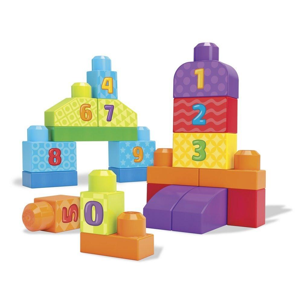 Набор – Учимся считать из серии Mega Bloks First Builders - Конструкторы Mega Bloks, артикул: 168088