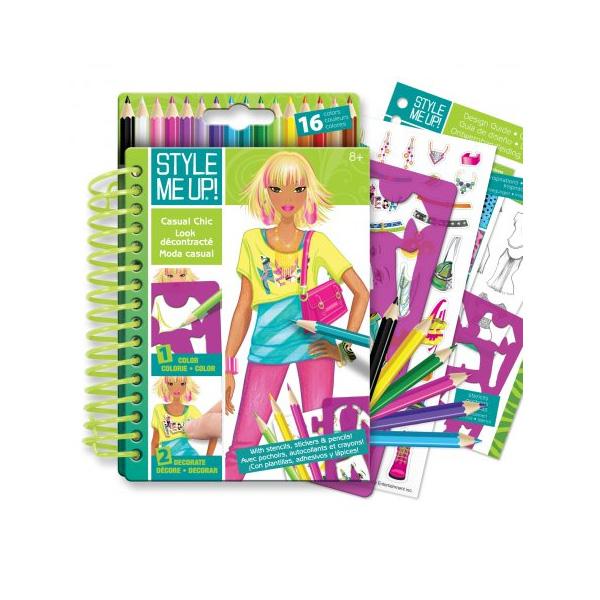 Блокнот дизайнера Style Me Up - Городской шикНаборы для рисования<br>Блокнот дизайнера Style Me Up - Городской шик<br>