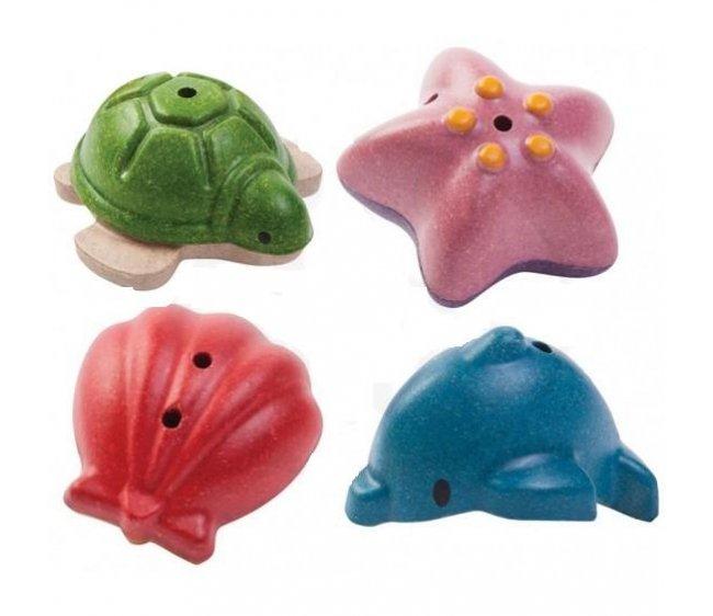 Набор игрушек для ванны Морская жизнь