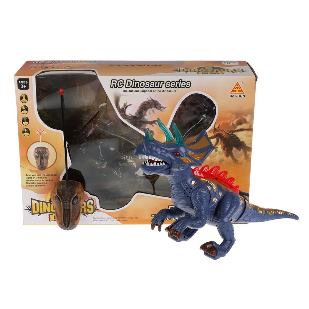 Купить Динозавр на р/у свет, звук