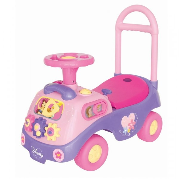 Каталка-пушкар – Принцесса, с шестеренкамиМашинки-каталки для детей<br>Каталка-пушкар – Принцесса, с шестеренками<br>