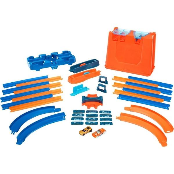 Конструктор трасс Hot Wheels® - Премиальный трюковой набор, с пусковым устройством Mattel