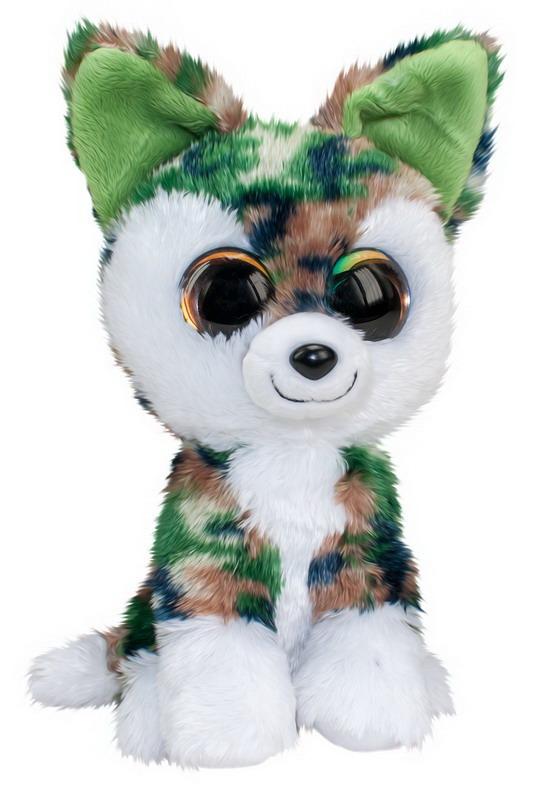 Мягкая игрушка - Волк Woody, серо-зеленый, 15 см