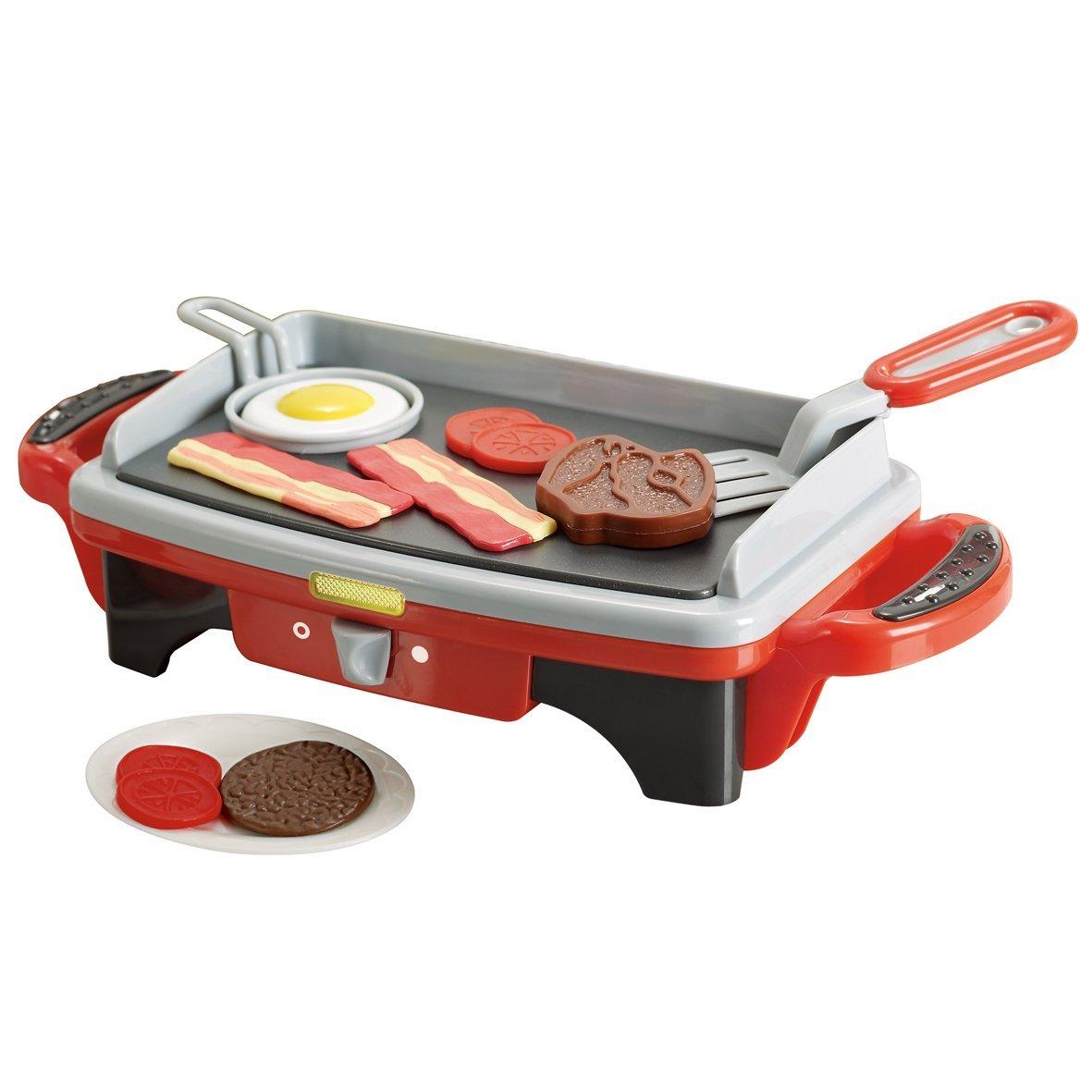 Кухонная игровая плита с аксессуарами, серия ДелюксАксессуары и техника для детской кухни<br>Кухонная игровая плита с аксессуарами, серия Делюкс<br>