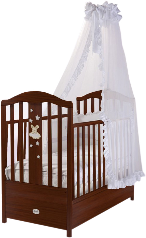 Кровать детская Romance, цвет NoceДетские кровати и мягкая мебель<br>Кровать детская Romance, цвет Noce<br>