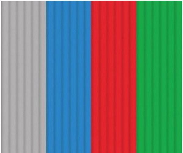 Эко-пластик к 3Д ручке 3DOODLER - Стартовый набор 24 штуки, 4 цвета: серый, синий, красный зеленый, Wobble Works  - купить со скидкой