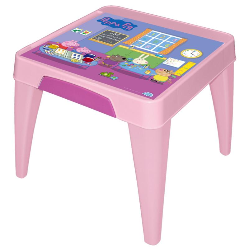 Детский стол - Я расту - Свинка Пеппа, розовыйИгровые столы и стулья<br>Детский стол - Я расту - Свинка Пеппа, розовый<br>