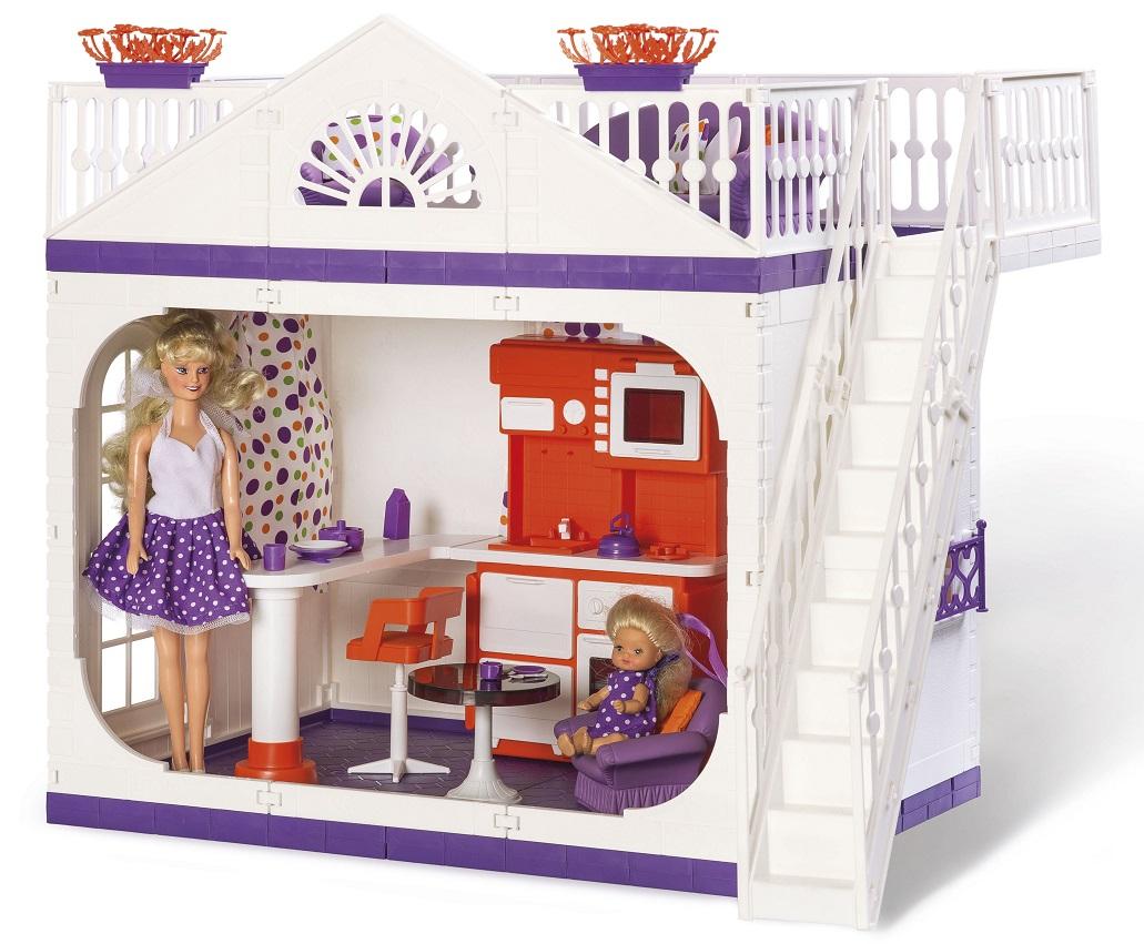 Дом дачный – Конфетти, 47 см.Кукольные домики<br>Дом дачный – Конфетти, 47 см.<br>