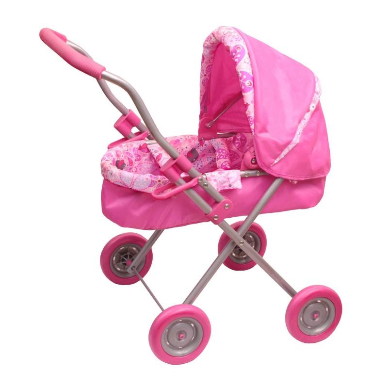 Зимняя коляска розовая - Коляски для кукол, артикул: 159027