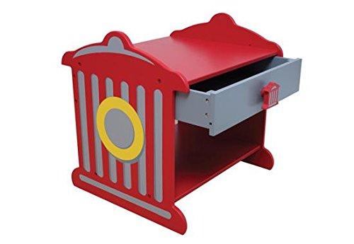 Прикроватный столик - Пожарная станция Fire Hydrant Toddler TableИгровые столы и стулья<br>Прикроватный столик - Пожарная станция Fire Hydrant Toddler Table<br>