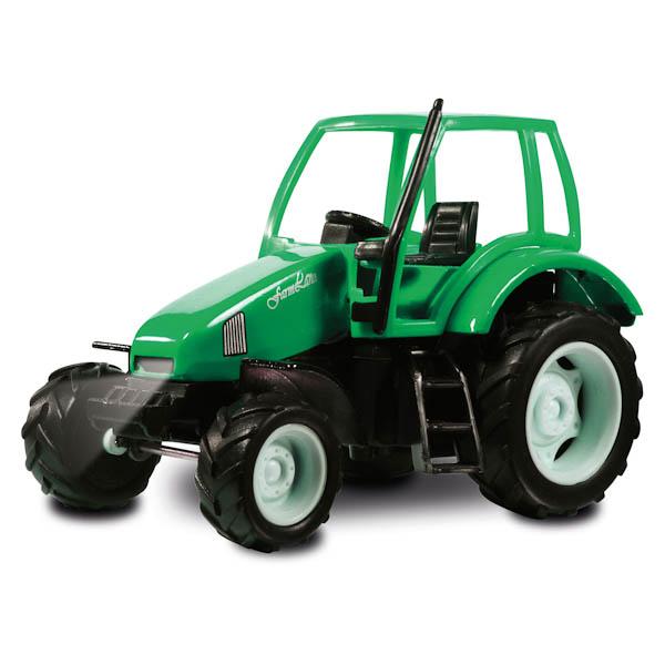 Трактор металлический инерционный со светом и звукомИгрушечные тракторы<br>Трактор металлический инерционный со светом и звуком<br>