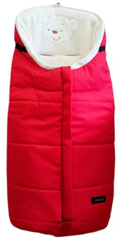 Спальный мешок в коляску - Holly, красныйАксессуары к коляскам<br>Спальный мешок в коляску - Holly, красный<br>