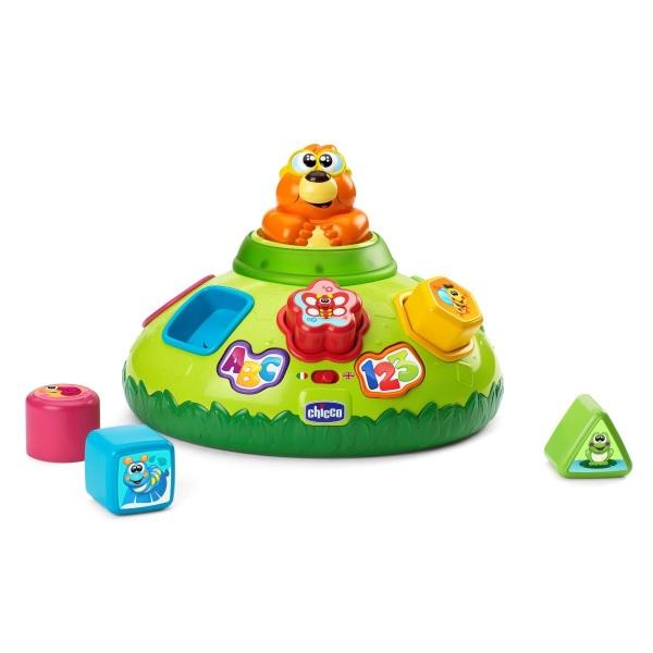 Купить Интерактивная игрушка-сортер – Крот, свет, звук, Chicco