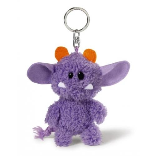 Брелок Монстр фиолетовый 10смРостометры, брелоки и др. игрушки<br>Брелок Монстр фиолетовый 10см<br>