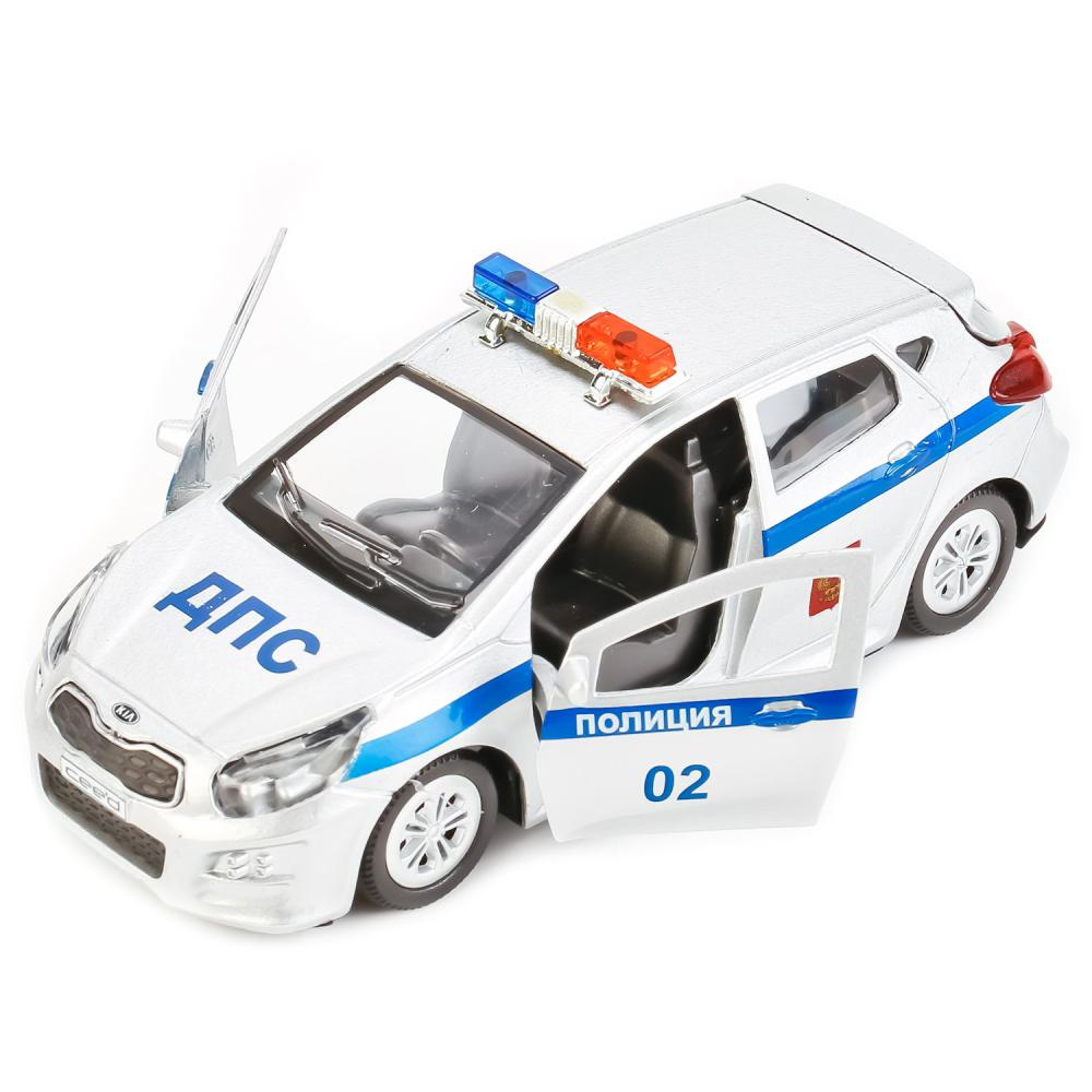 Купить Машина металлическая Kia Ceed Полиция, 12 см, Технопарк