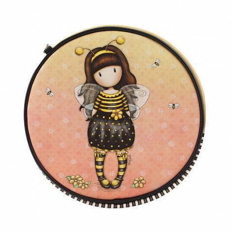 Купить Сумка круглая через плечо - Bee-Loved Just Bee-Cause из серии Gorjuss, Santoro London