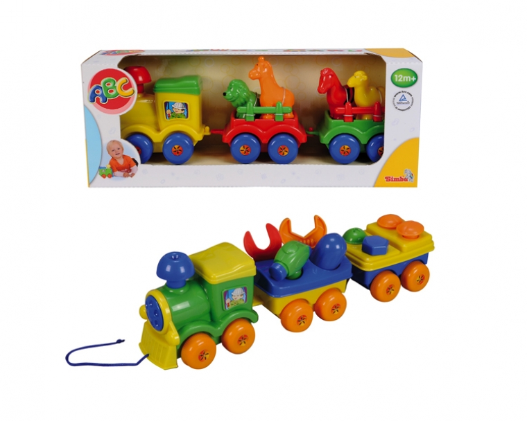 Паровозик-каталкаЖелезная дорога для малышей<br>Паровозик-каталка<br>