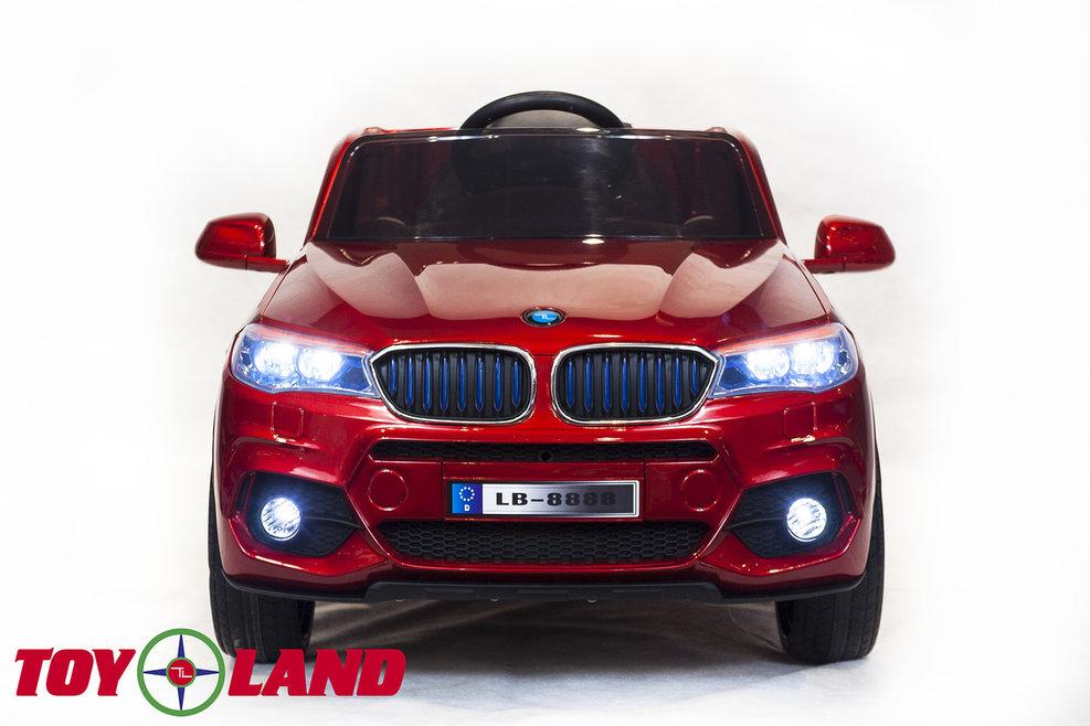Электромобиль - BMW X5, красный, свет и звук