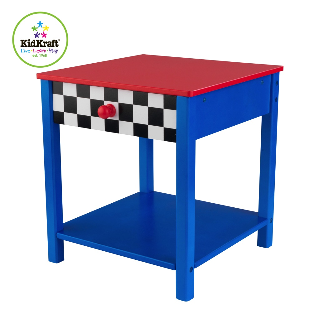 Прикроватный столик  Гоночная машина Race Car Side Table - Игровые столы и стулья, артикул: 161524