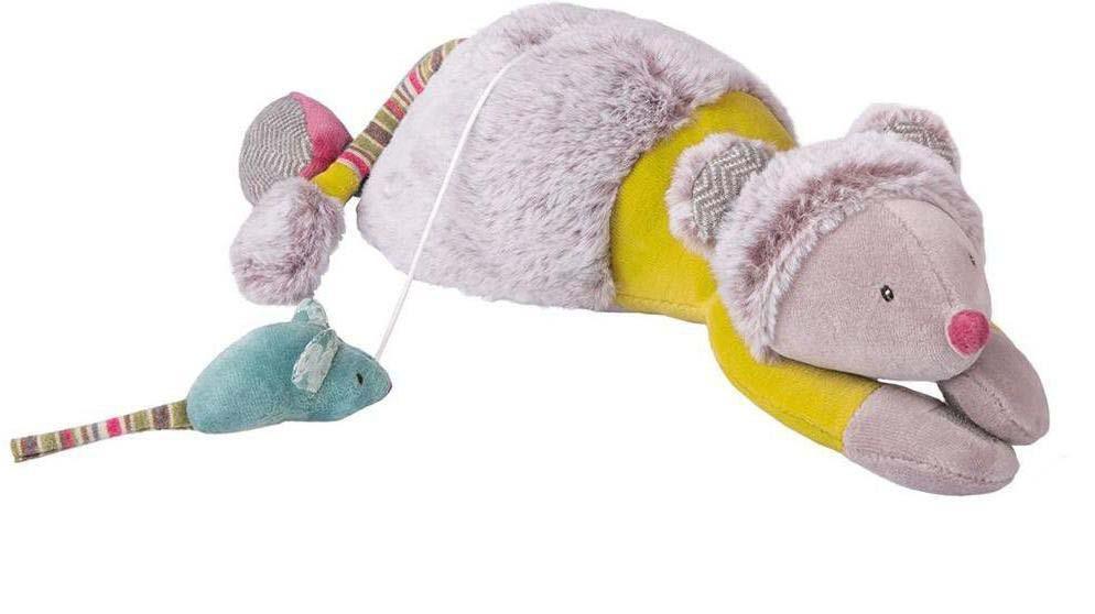 Купить Мягкая игрушка – Музыкальная мышь, 33 см, звук, Moulin Roty