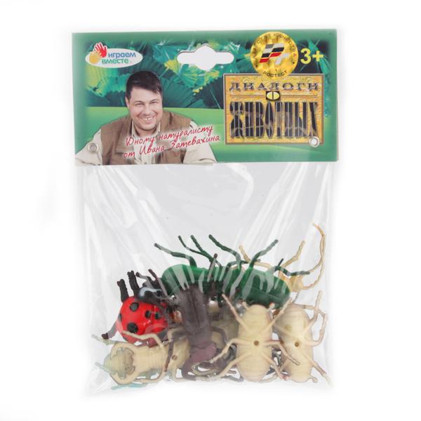 Набор из 12 жуков, 5 см.Лесная жизнь (Woodland)<br>Набор из 12 жуков, 5 см.<br>