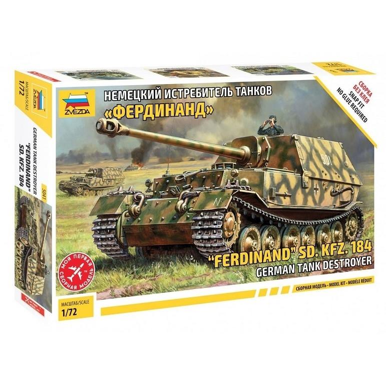 Купить Модель сборная – немецкий истребитель танков Фердинанд, ZVEZDA