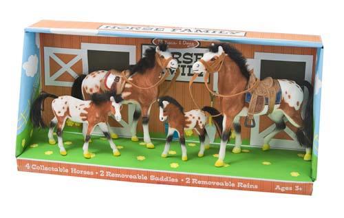 Игровой набор - Семейка лошадей из серии Классические игрушкиЛошади (Horse)<br>Игровой набор - Семейка лошадей из серии Классические игрушки<br>