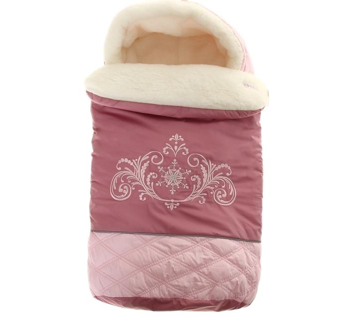 Конверт меховой Метелица - розовыйЗимние конверты<br>Конверт меховой Метелица - розовый<br>