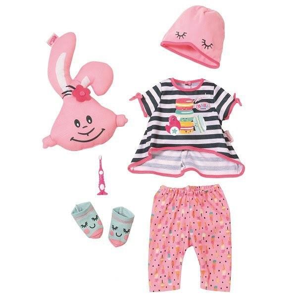 Купить Набор одежды для куклы – Baby Annabell. Пижамная вечеринка, Zapf Creation
