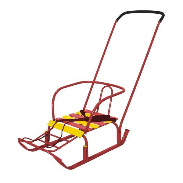 Санки детские Тимка 3, цвет - красныйСанки и сани-коляски<br>Санки детские Тимка 3, цвет - красный<br>