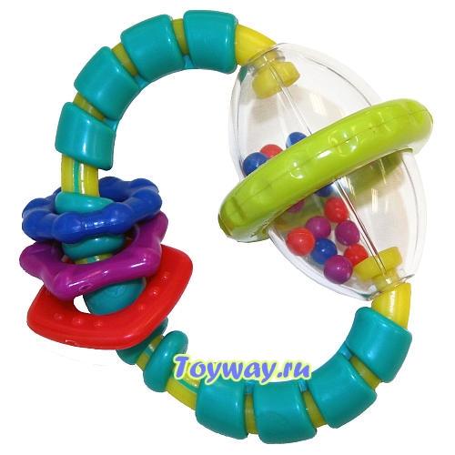 Развивающая игрушка «Хватай и вращайДетские погремушки и подвесные игрушки на кроватку<br>Развивающая игрушка «Хватай и вращай<br>