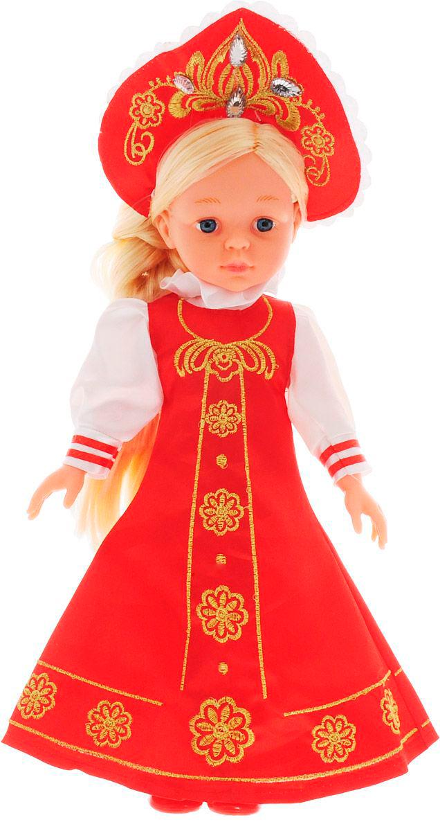 Озвученная кукла Русская Красавица, 33 см