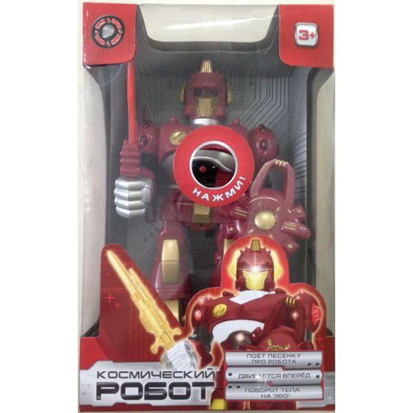 Робот со светом и звуком, на батарейкахРоботы, Воины<br>Робот со светом и звуком, на батарейках<br>