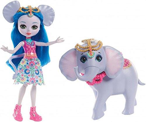 Купить Кукла Enchantimals с питомцем - Екатерина Слон и Антик, 15 см, Mattel