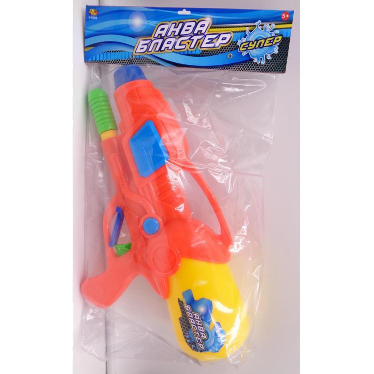 Водное оружие Аквабластер, оранжевыйВодяные пистолеты<br>Водное оружие Аквабластер, оранжевый<br>