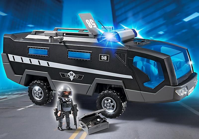 Игровой набор из серии «Полиция» - Машина специального назначения со светом и звукомПолиция<br>Игровой набор из серии «Полиция» - Машина специального назначения со светом и звуком<br>
