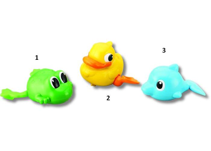 Заводные игрушки для ванной, 3 видаЗаводные игрушки<br>Заводные игрушки для ванной, 3 вида<br>