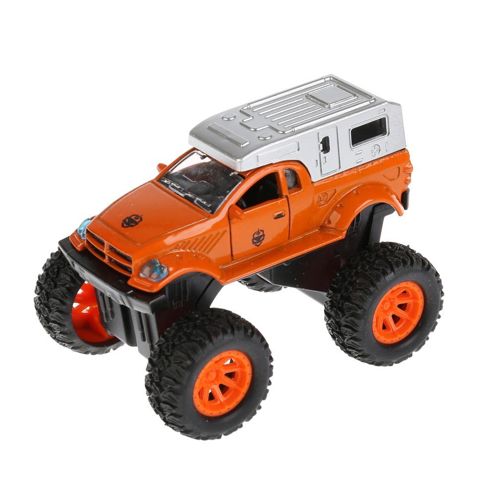Купить Инерционная машинка – Джип Road Racing. Металл, 8 см. Разные цвета, Технопарк