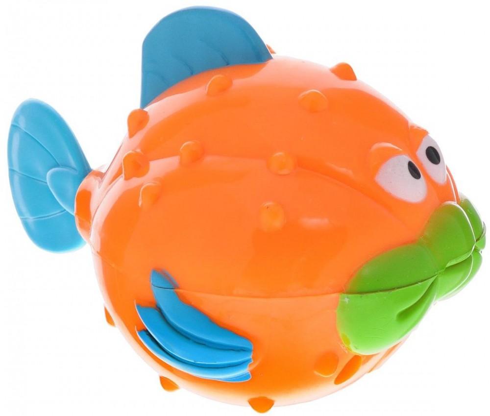 Игрушка для ванны - Рыба-ежЗаводные игрушки<br>Игрушка для ванны - Рыба-еж<br>
